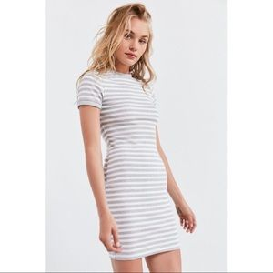 BDG Striped Bodycon T-Shirt Dress